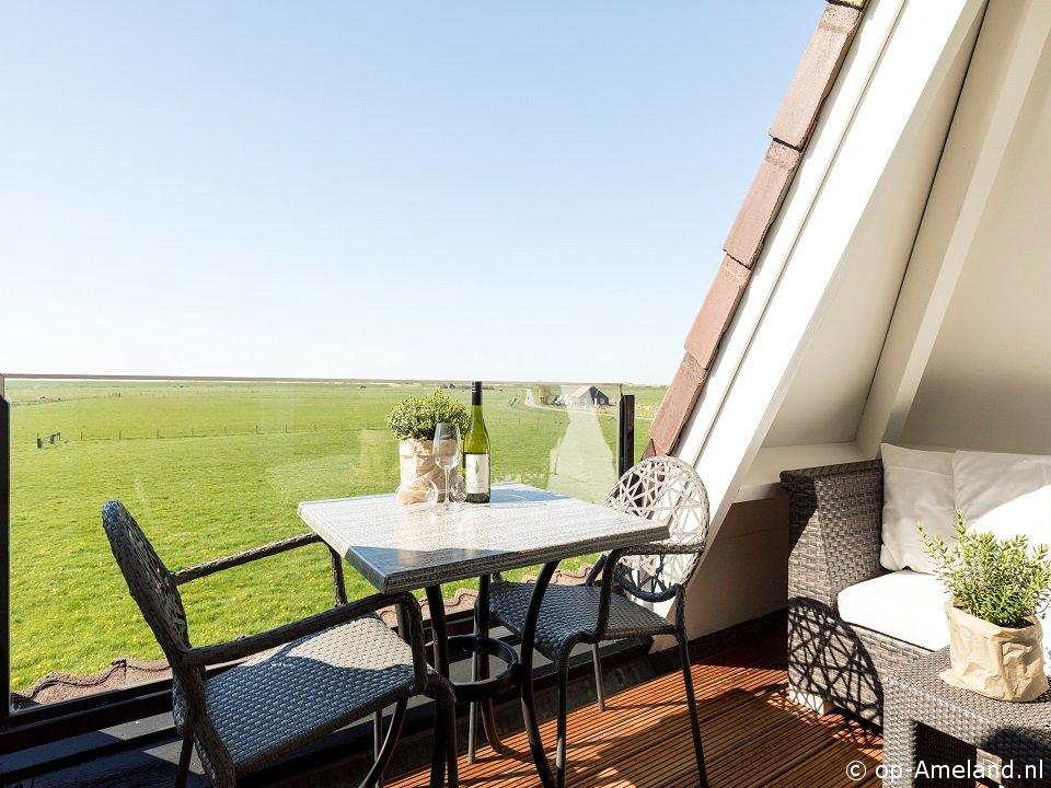 Balkon Klein Appartement : Appartment sunset met balkon auf ameland